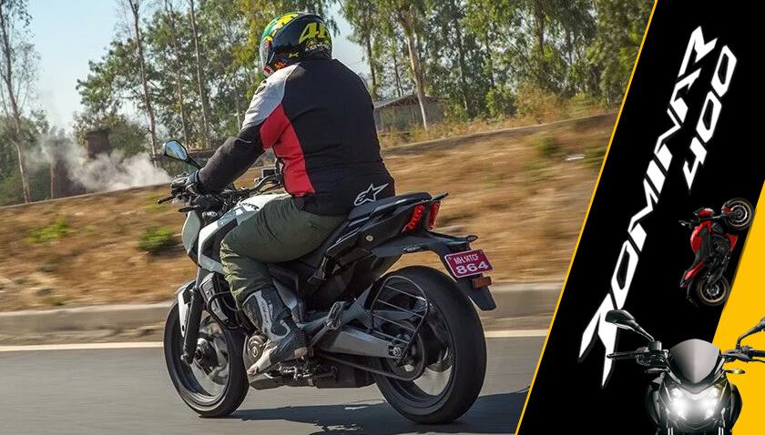 bajaj dominar 400 power-cruiser